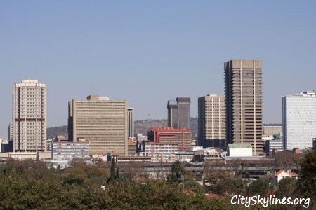 Pretoria City Skyline, South Africa