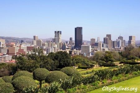 Pretoria, South Africa - Mountain Backdrop