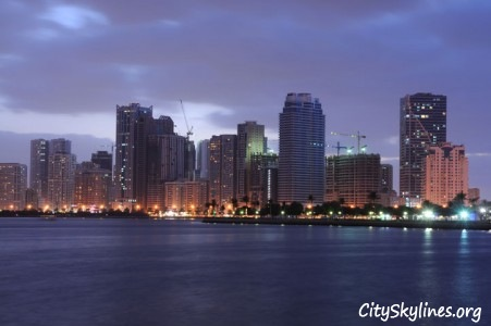 Water View of Sharjah City