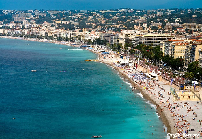 Nice City Skyline, France - Azure Coast