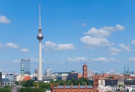 Berlin City Skyline, Germany