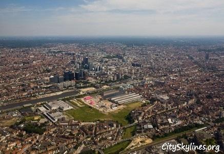 Brussels City Skyline, Belgium