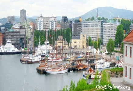 Oslo City Skyline, Norway - Harbor View