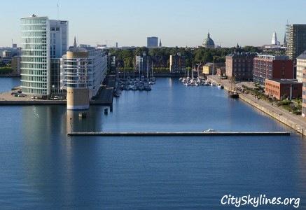 Copenhagen City Skyline, Denmark - Harbor View