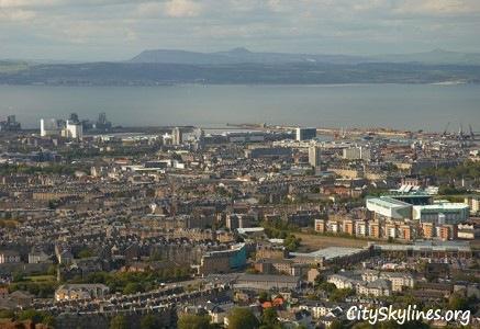 Edinburgh City Skyline, Scotland