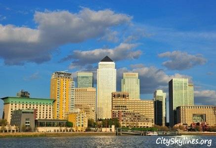 City of London Skyline, Harbor View