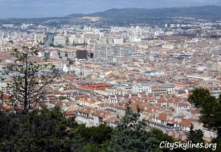 Marseille City, France - Mountain Overlook