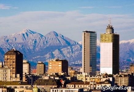 Milan City Skyline, Italy
