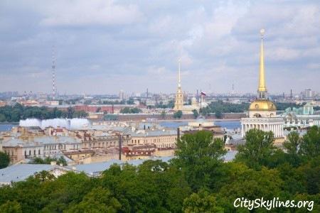 Saint Petersburg, Russia - Building Top View