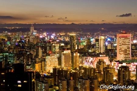 Taipei City Skyline, Republic of China