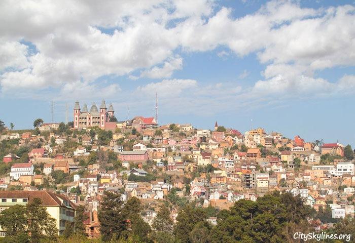 Antananarivo City Skyline, Madagascar - Presidential Palace