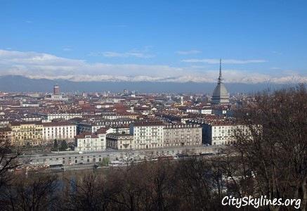 Turin, Italy - Mountainous View