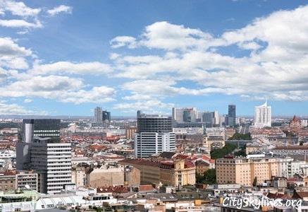 City of Vienna Skyline, Austria