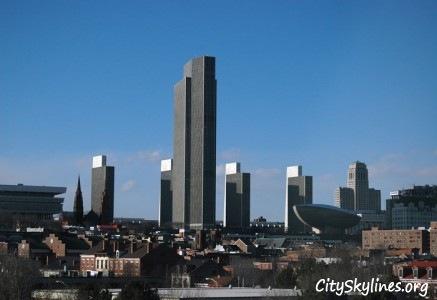 Albany Skyline, NY