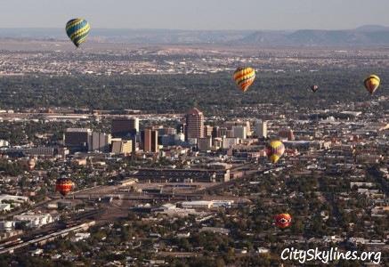 Hot Air Balloons in Albuquerque, NM