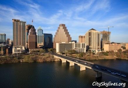Austin City Skyline, TX
