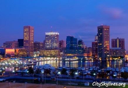 City of Baltimore Skyline, MD