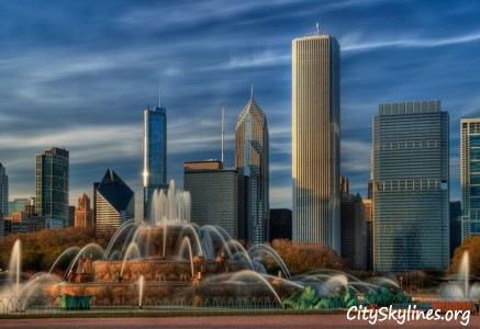 Chicago City Skyline, IL