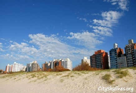Montevideo Skyline, Uruguay