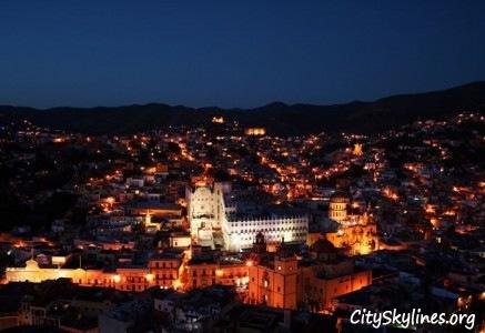 Guanajuato, MX - City Lights