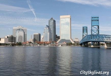 Jacksonville City Skyline, FL