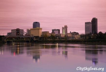 City Skyline of Little Rock, AR