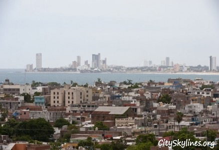 Mazatlán City Skyline - Sinaloa, Mexico