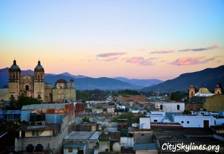 Oaxaca Mexico Skyline - Mountain Backdrop