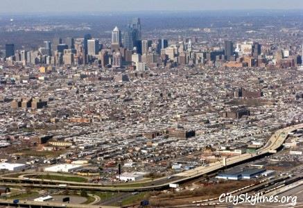 Philadelphia, PA South Philly Skyline