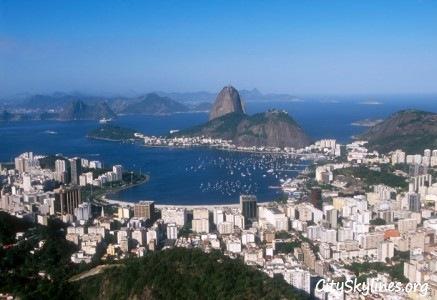 Rio City Skyline, Brazil