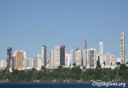 Salvador Skyline, Brazil