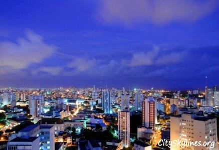 Salvador City Skyline at Night