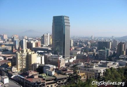 City of Santiago, Chile Skyline