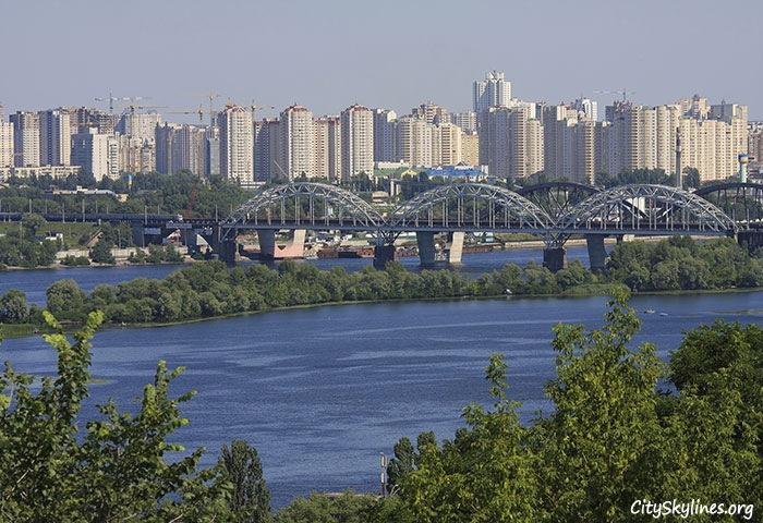 Kiev City, Ukraine - Dnieper River Overlook