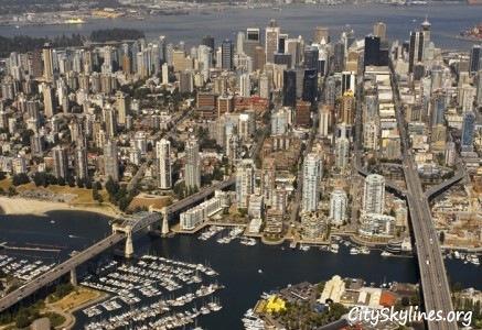 Vancouver Skyline, British Columbia