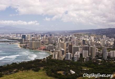 Waikiki Skyline, Honolulu