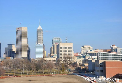 Indianapolis - Looking from the west to the east