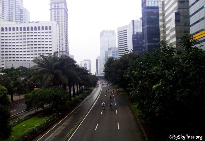 Car Free Day in Jakarta