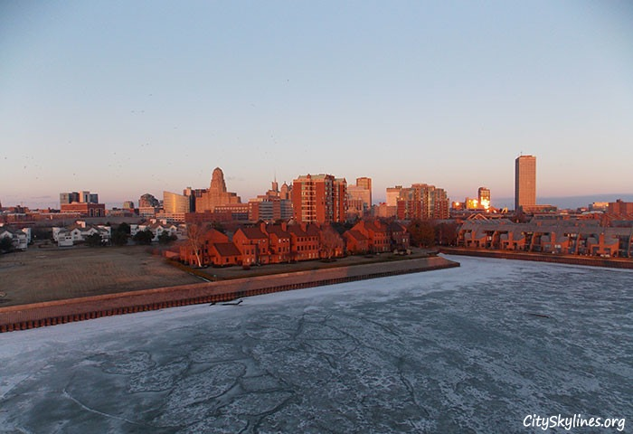 Buffalo New York, Cold April Afternoon - Mark Stempien